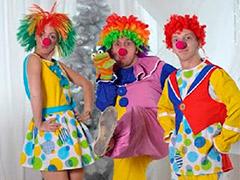 Клоуны и Дед Мороз на Новый год - цена в Краснодаре